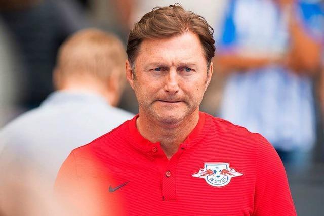 RB Leipzig löst Vertrag mit Trainer Ralph Hasenhüttl auf