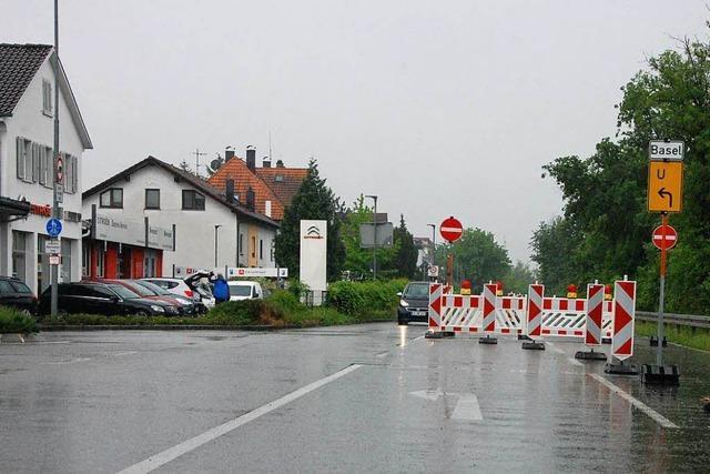 Der Unfallschwerpunkt an der Kreuzung Bühlstraße in Weil soll entschärft werden