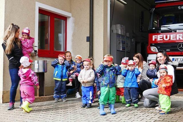 Viel Spaß bei der Feuerwehr