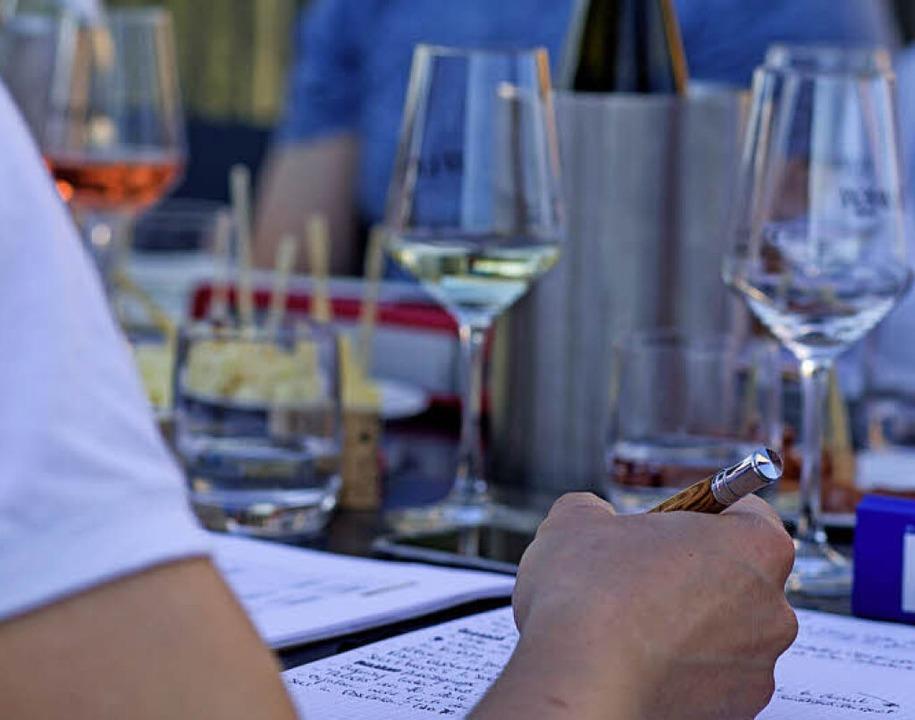 Mehr als 100 Weine und Sekte aus dem B...reisgau in Ettenheim verkostet werden.  | Foto: Patrik Müller