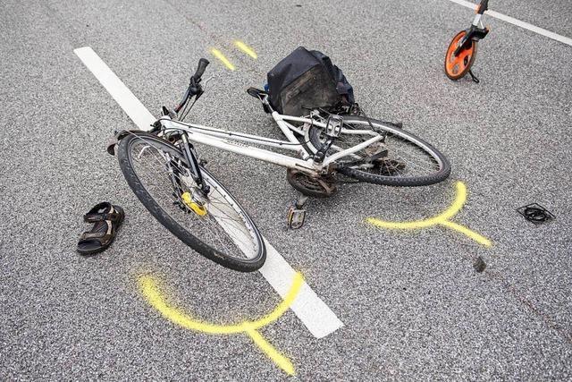 Zwölfjährige Radfahrerin von Auto angefahren und verletzt
