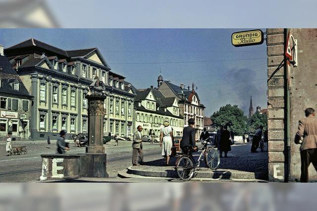 Offenburg-Fotos der Leica-Pioniere Paul Wolff und Alfred Tritschler als Postkarten