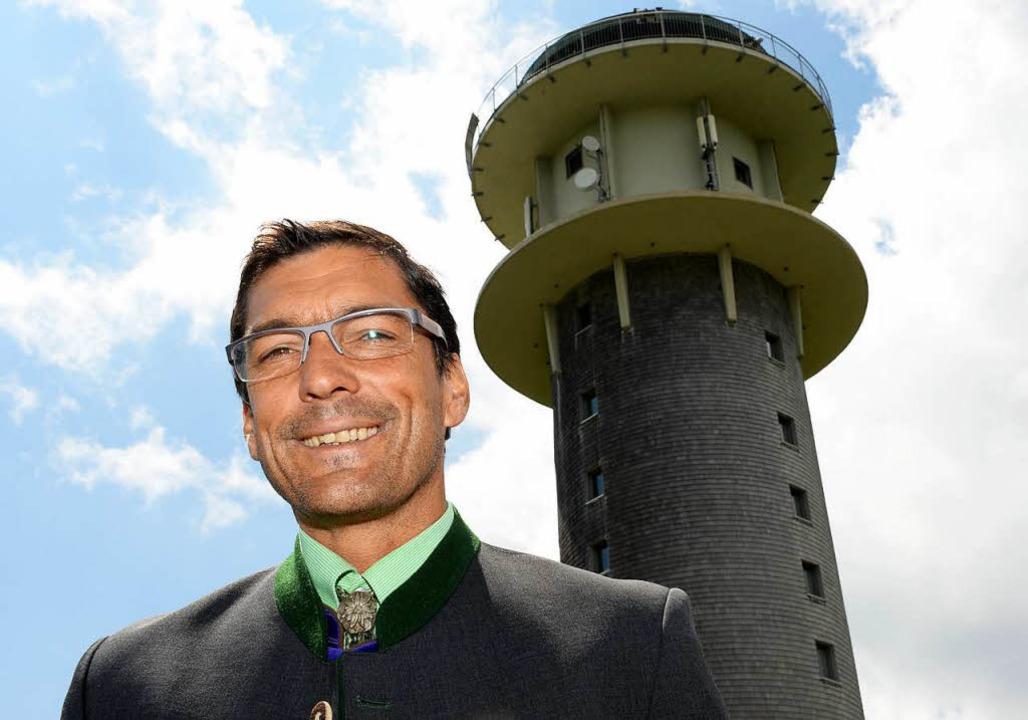 Bürgermeister Stefan Wirbser gibt sein... Kandidatur für die Wahl 2019 bekannt.    Foto: dpa