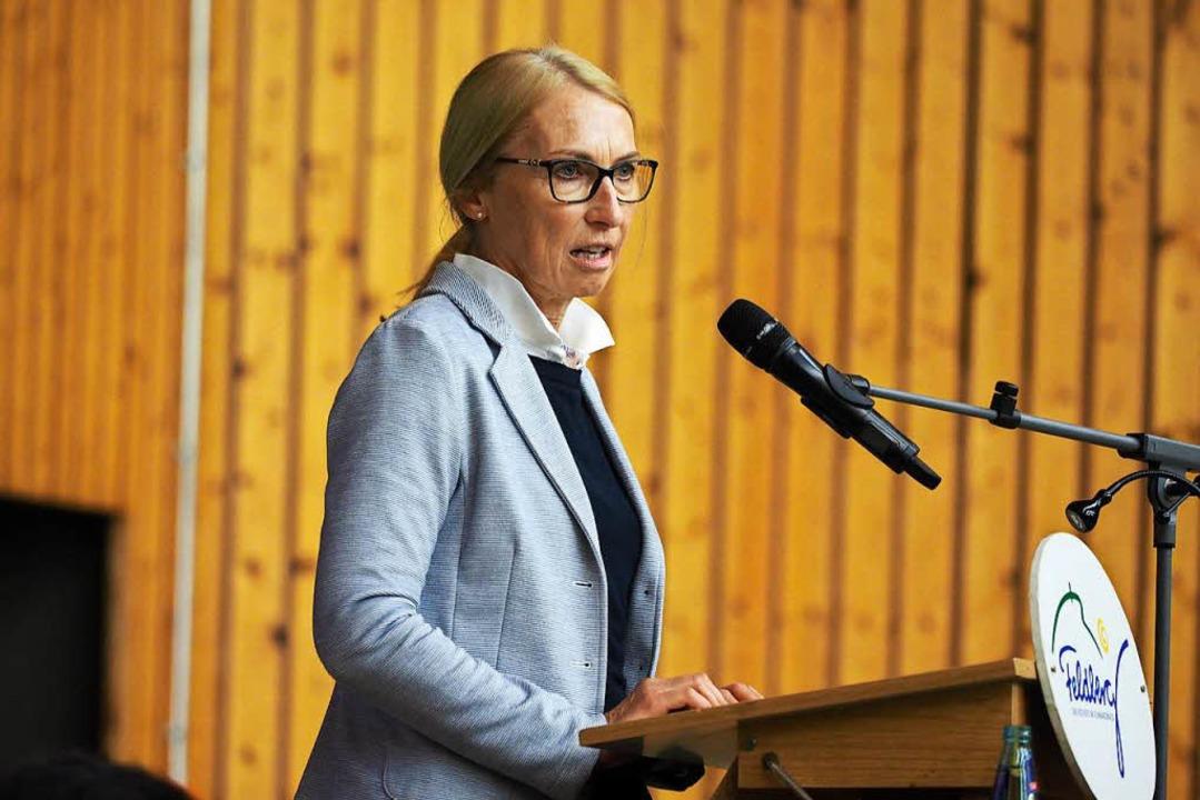 Gemeinderäte werben für ihre Arbeit: Elisabeth Klein    Foto: Susanne Gilg