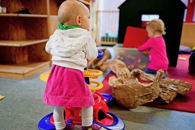 Kleinkindbetreuung hat ihren Preis