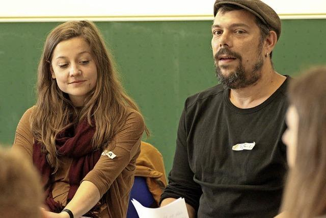 Alltags-Poesie begeistert Jugendliche in Bad Säckingen