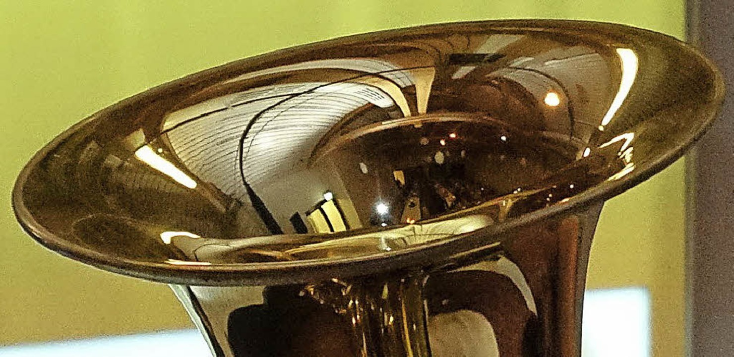 Schalltrichter einer Tuba  | Foto: Hans-Jürgen Hege