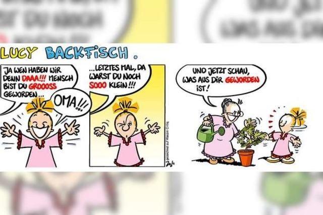 Lucy Backfisch: Das Wiedersehen mit Oma