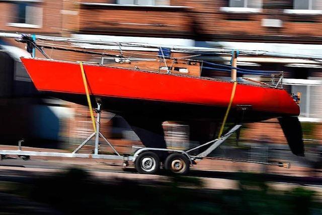 Schweizer will Segeljacht nach Deutschland schmuggeln