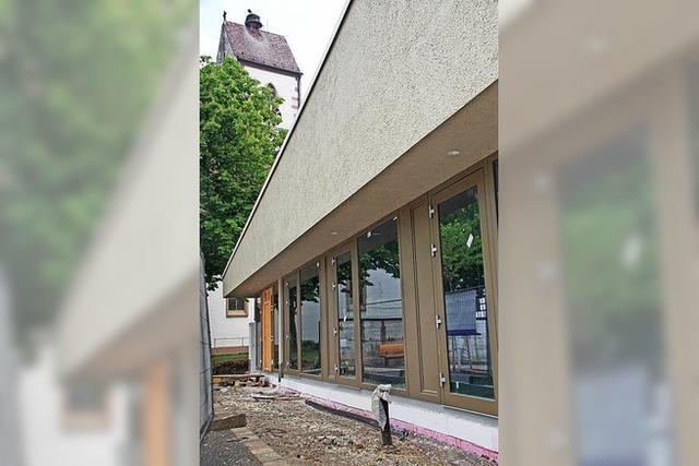 Spendenbereitschaft fürs Gemeindehaus ungebrochen