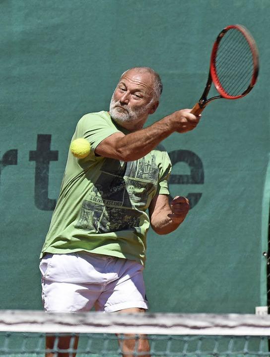Altersübergreifend: Tennis bei den Kahlenberg Open.   | Foto: Sebastian Köhli