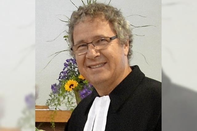 Pfarrer Rathgeber übernimmt die Vakanzvertretung