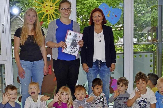 Hexen unterstützen Kindergarten