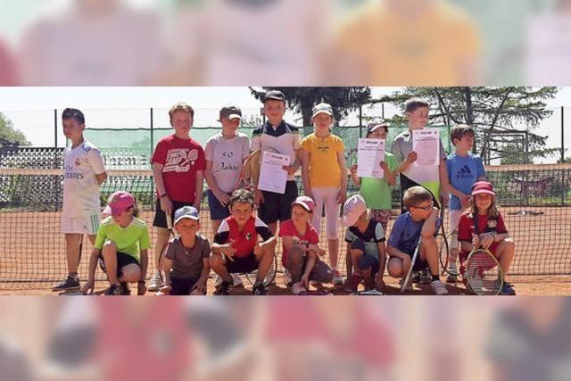 Jugend startet erfolgreich in die Tennis-Saison