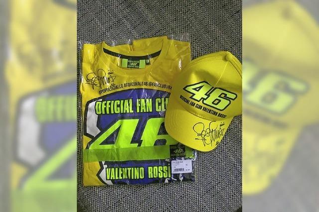 Fanartikel von Valentino Rossi