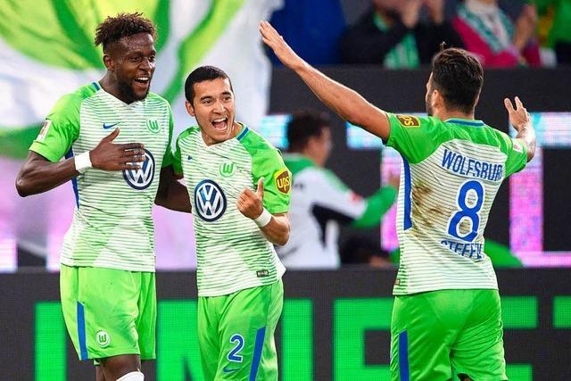 VfL Wolfsburg besiegt Kiel im Relegations-Hinspiel 3:1