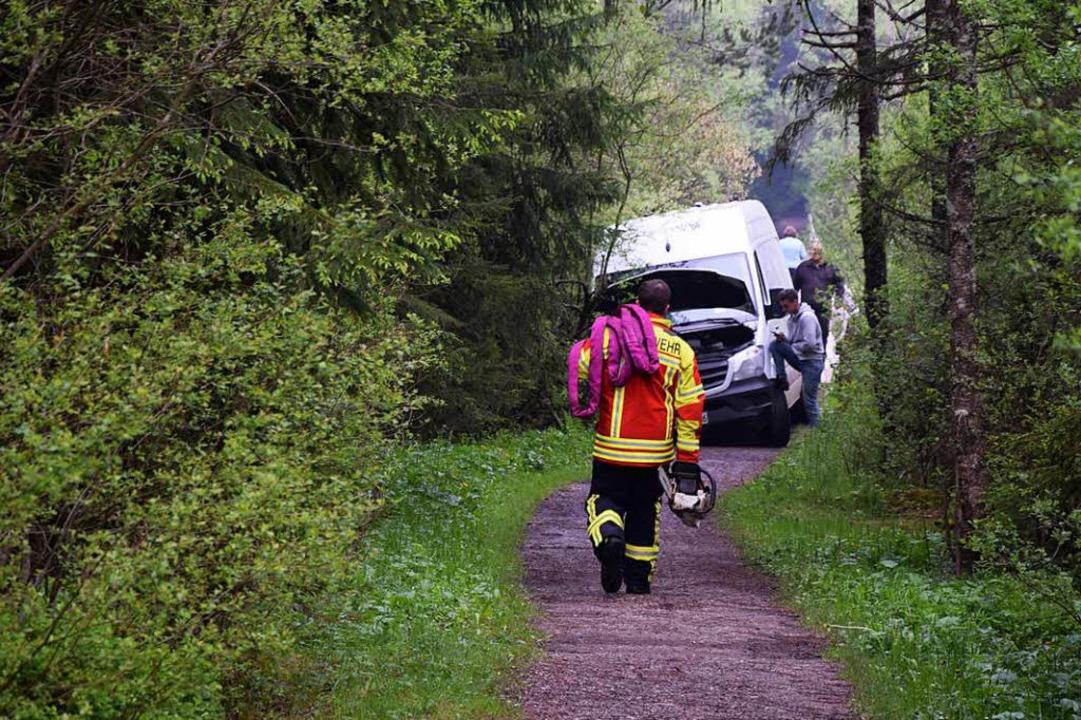Einsatz im Hochmoor  | Foto: kamera24.tv