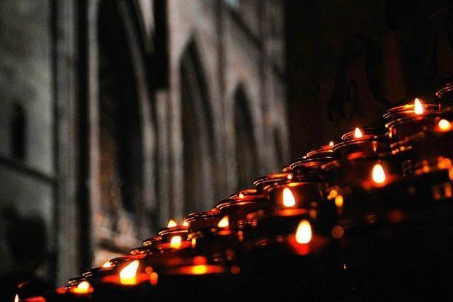 600 Menschen kamen zur Trauerfeier von Gerhard Kaiser ins Münster
