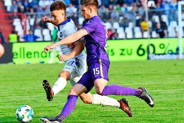 Karlsruher SC und Erzgebirge Aue trennen sich im Hinspiel mit 0:0
