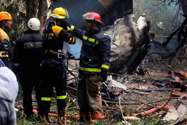 Mehr als 100 Tote nach Flugzeugabsturz in Kuba