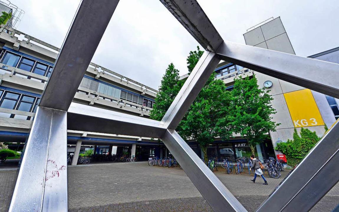 In Kollegiengebäuden der Pädagogischen Hochschule wurde PCB entdeckt.   | Foto: Michael Bamberger
