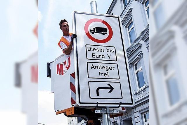 Luft dreckig, EU klagt – auch wegen Freiburg