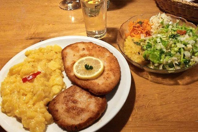 Soders Winzerschänke in Eimeldingen: Schüffeli und Spätburgunder