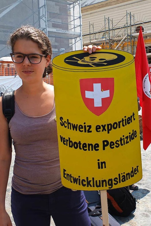 March against Monsanto in Basel    Foto: Martina David-Wenk