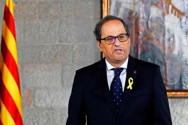 Streit um Katalonien spitzt sich zu: Inhaftierte zu Ministern ernannt