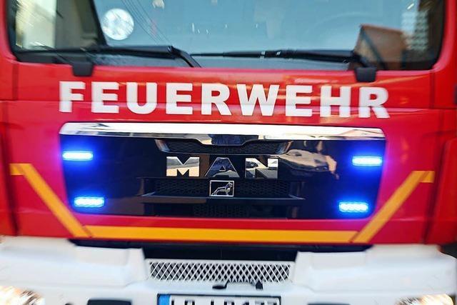 Brand eines Wäschetrockners in Laufenburg-Hochsal