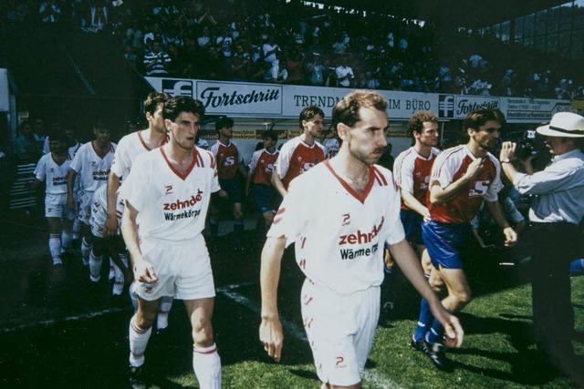 Vor 25 Jahren stieg der SC Freiburg zum ersten Mal auf