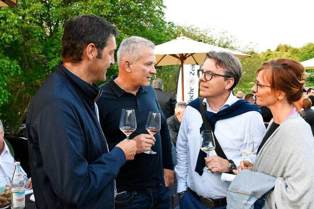 Gaste bei der Weinkultur Breisgau  | Foto: Markus Zimmermann