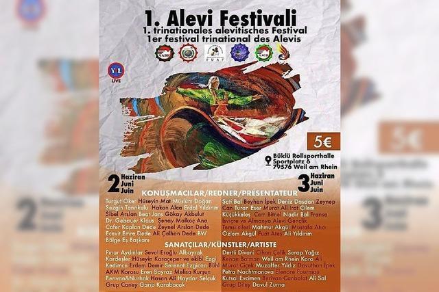 Aleviten stellen ihre Kultur bei Festival vor