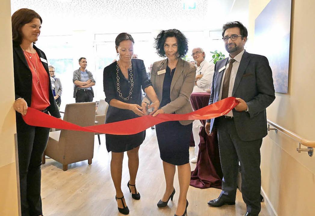 Zur Eröffnung der Wahlleistungsstation...Regionalleiter Helios Privatkliniken.   | Foto: Bury