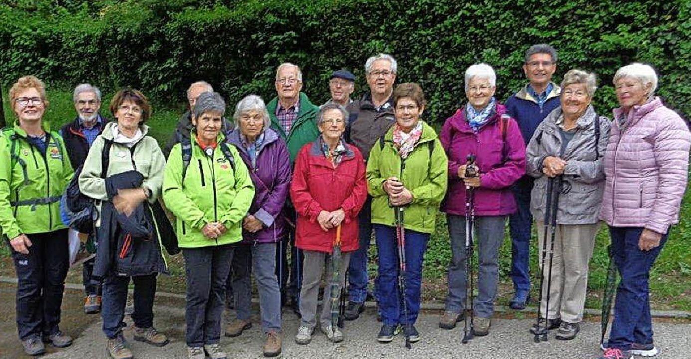 <BZ-FotoAnlauf>Tag des Wanderns:</BZ-F...chwarzwaldvereins auf den Weg machte.     Foto: privat