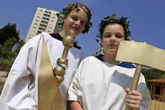 Eindrücke vom Römertag