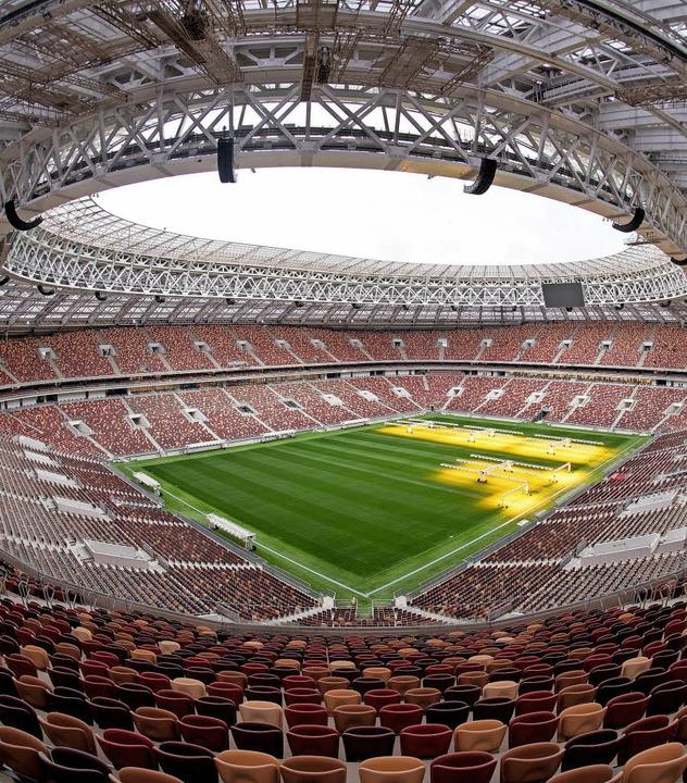 Nur vier Prozent der Russen glauben, d...n Moskau zum Weltmeister küren kann.    | Foto: DPA