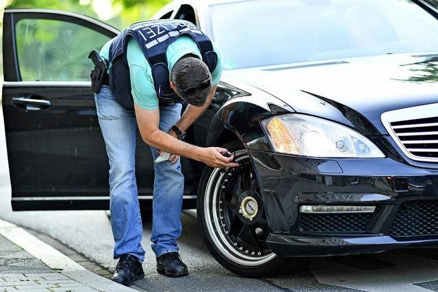 Polizei stemmt sich gegen Auto-Poser