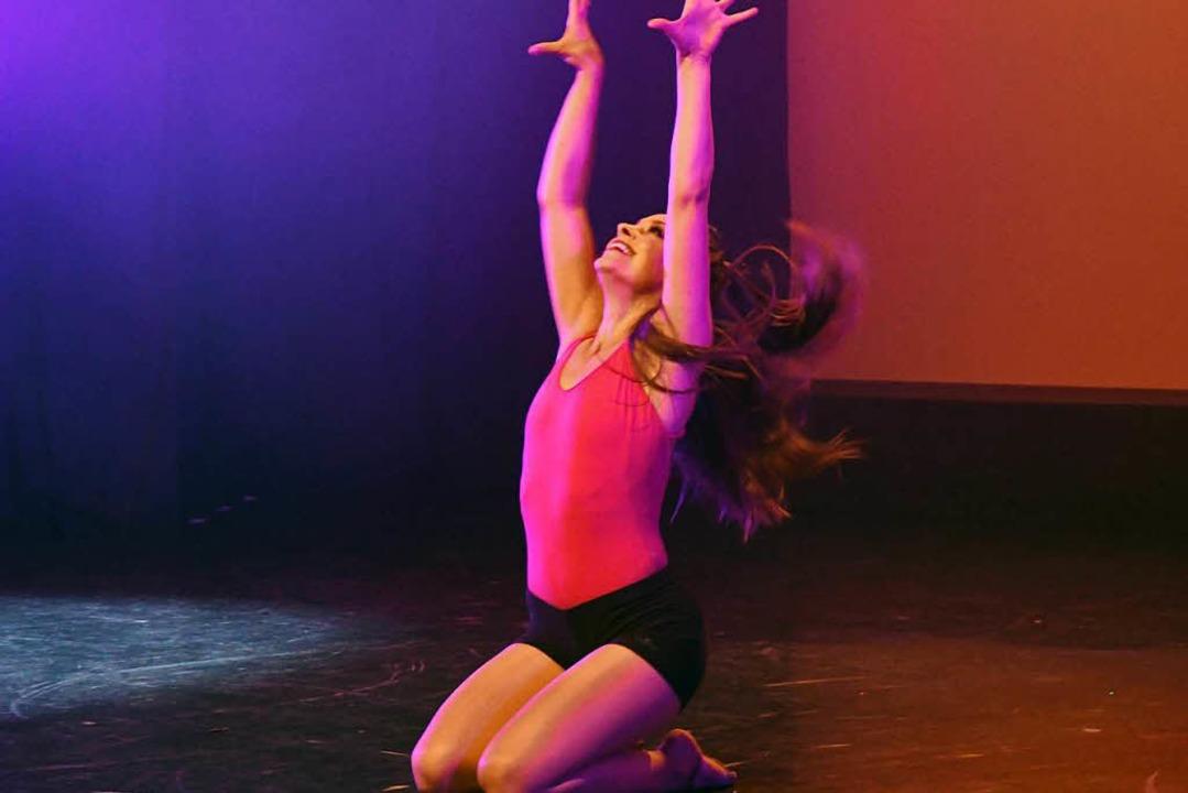Lisa Wissert tanzt bei den Monday Nights.    Foto: Frank Linke