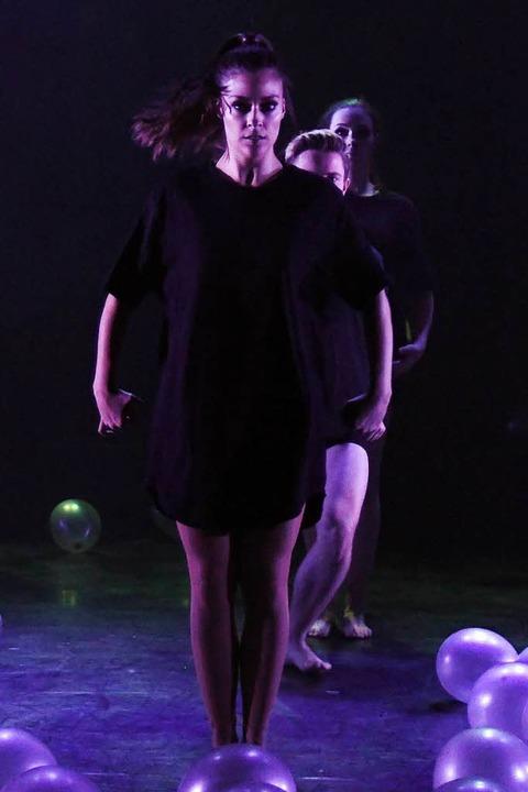 Lisa Wissert bei den Monday Nights im First-Stage-Theater in Hamburg.    Foto: Frank Linke