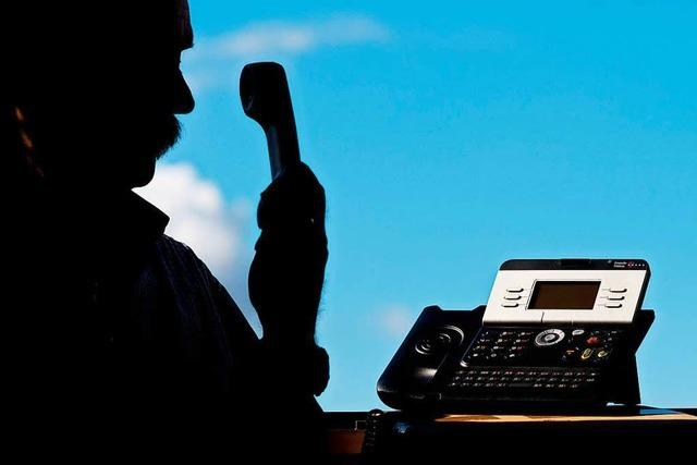 Lörracher enttarnen falschen Polizisten als Telefonbetrüger