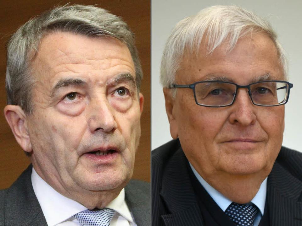 Niersbach und Zwanziger  | Foto: AFP