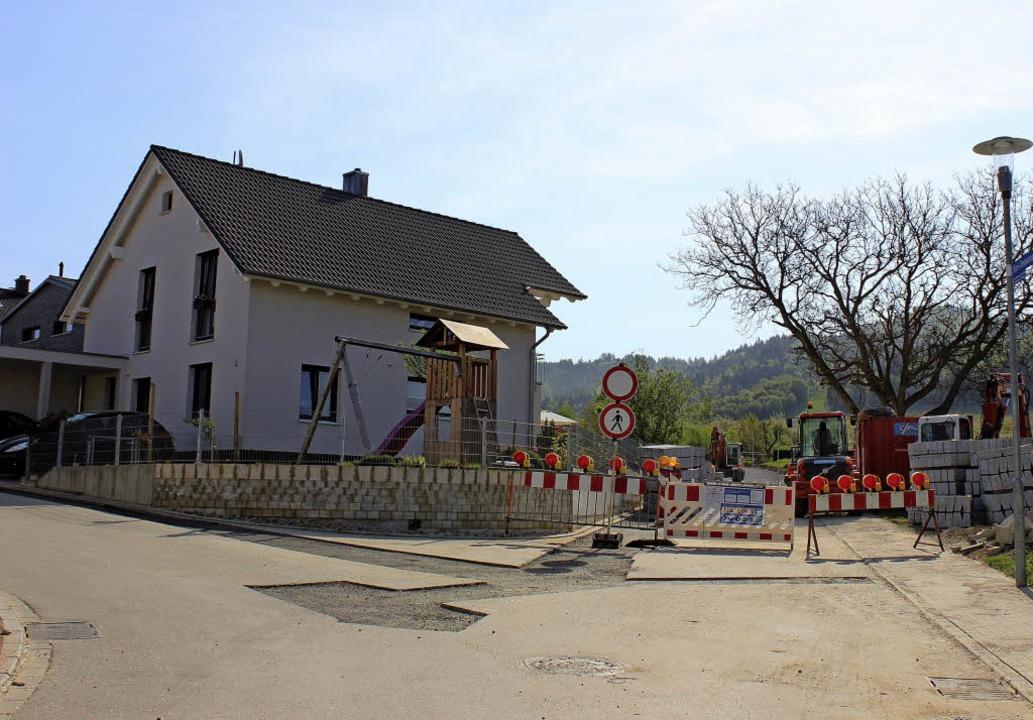 Das Baugebiet Holzweg III erfordert noch einige Investitionen der Gemeinde.    Foto: Jennifer Ruh