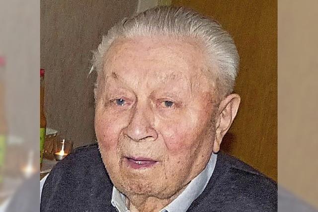Trauer um den ältesten Bürger im Dorf