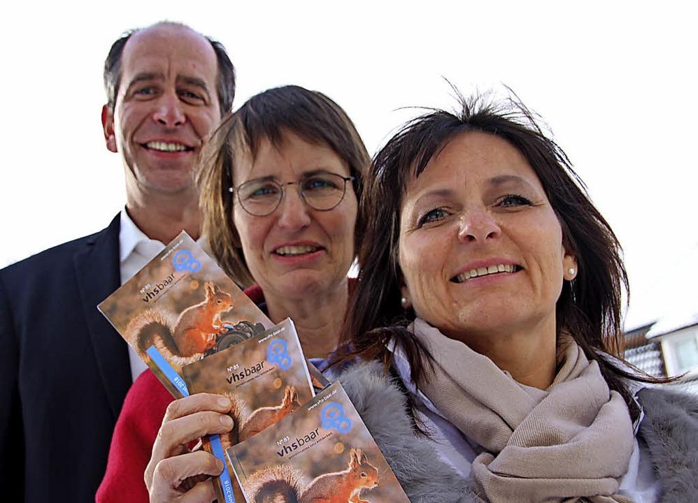 Das Angebot der Volkshochschule Baar k...rms-Höfler und Sabine Spies (rechts).   | Foto: Günter Vollmer