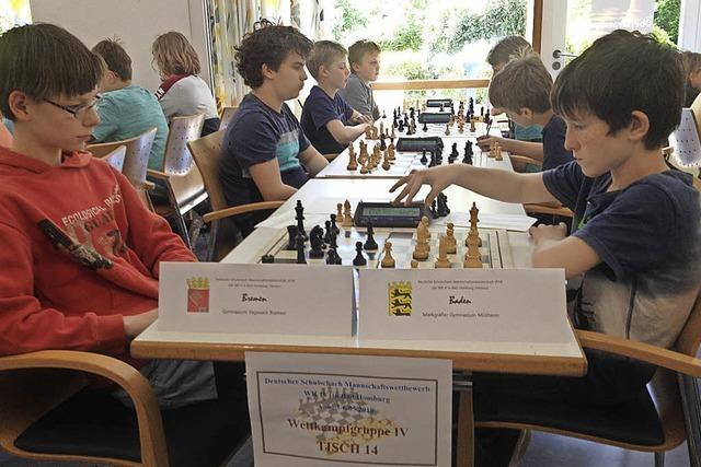 Erfolgreicher Schach-Nachwuchs