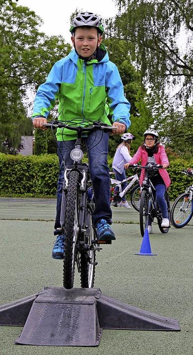 Der sichere Umgang mit dem Fahrrad will geübt sein.  | Foto: Privat