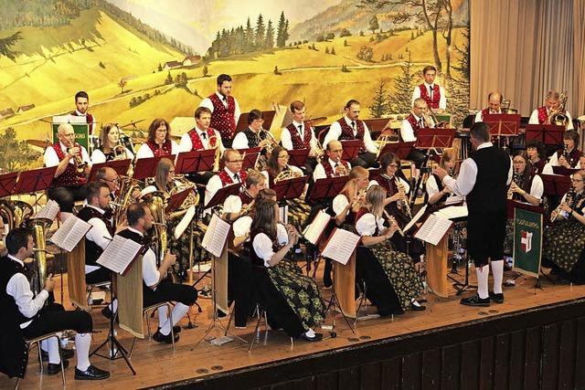 Polkaüberraschung für den Dirigenten