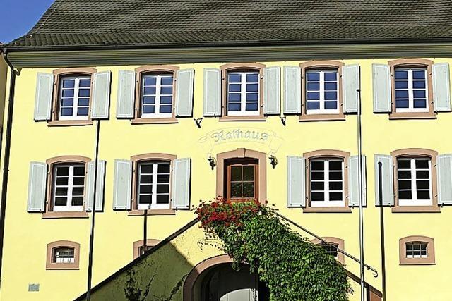 Pfarramt nun im Rathaus Wintersweiler