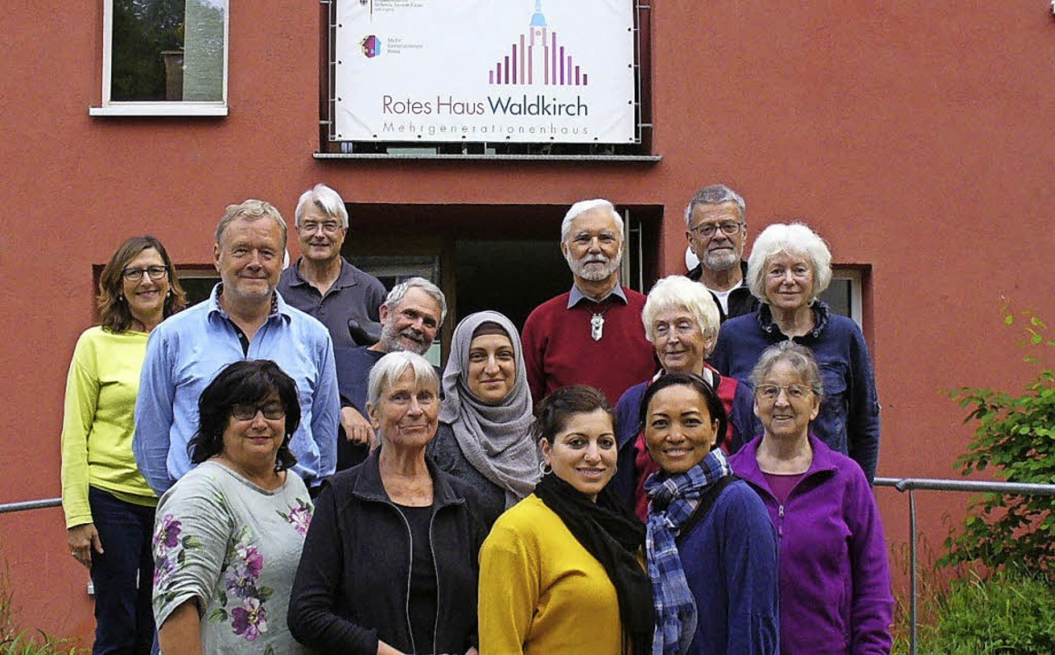 Das Vorstandsteam vom Förderverein Rotes Haus.   | Foto: Jutta Beckmann